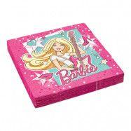 Servetter Barbie Popstar - 20-pack