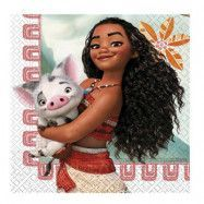 Servetter Disney Vaiana - 20-pack