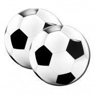 Servetter Runda Fotboll - 20-pack