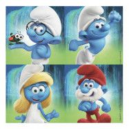 Servetter Smurfarna - 20-pack