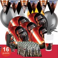Star Wars The Force Awakens, Kalaspaket Deluxe 16 pers