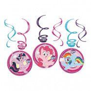 Swirls My Little Pony Hängande Dekoration - 6-pack