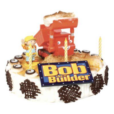 Tårtdekoration Byggare Bob