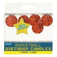 Tårtljus Födelsedag Basket