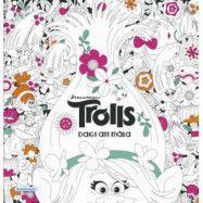 Trolls - Dags att måla Målarbok