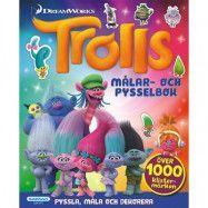 Egmont Kärnan Trolls, Målar-&pysselbok + 1000 klistermärken