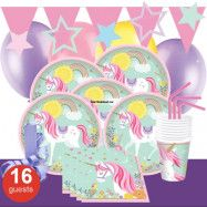 Unicorn Magical, Kalaspaket Deluxe 16 pers
