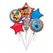 Ballongbukett Toy Story 4 - 7-pack