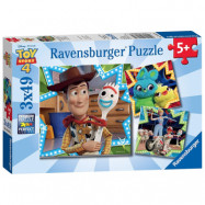 Ravensburger Toy Story 4 Pussel 3x49-bitar