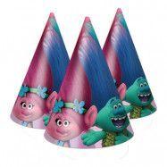 Partyhattar Trolls - 8-pack