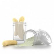 Twistshake Pulverbehållare (Vit)