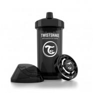 Twistshake Sportflaska 360 ml (Svart)