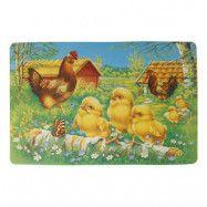 Bordstablett Kycklingar