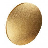 Bordstablett Rund Guld