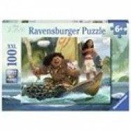 Ravensburger, Vaiana och Maui Pussel 100 bitar