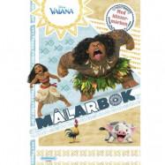 Vaiana - Målarbok med klistermärken