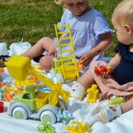 Viking Toys Ecoline Grävlastbil 28 cm