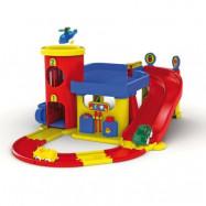 Viking Toys Garage litet med vägset